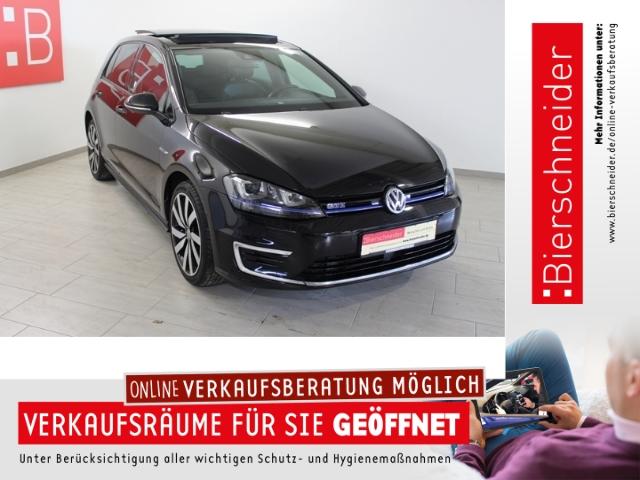 Volkswagen Golf VII 1.4 TSI DSG GTE DCC 18 CCS STAND ACC LEDER, Jahr 2015, Hybrid