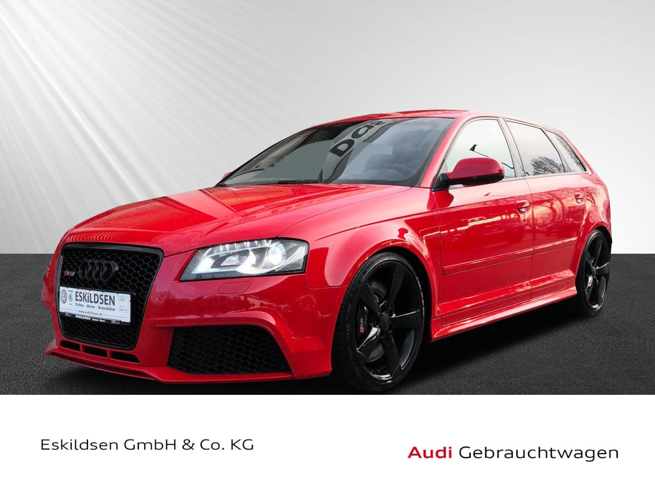 Audi RS3 Sportback Navi, Bose, Leder Klima Xenon, Jahr 2012, petrol