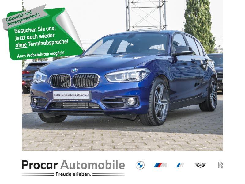 BMW 120d Sport Line 5-Türer Navi Prof Komfortzg. AHK, Jahr 2017, Diesel