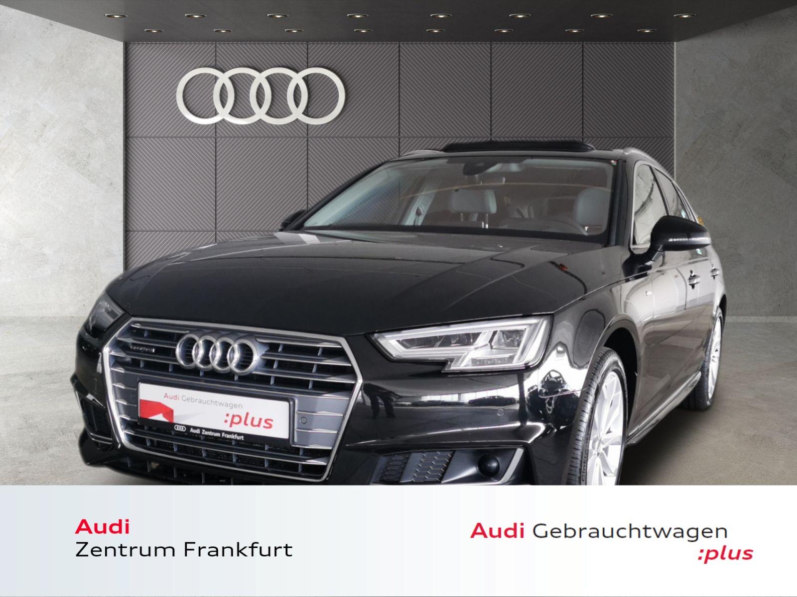 Audi A4 Avant 2.0 TDI quattro 2xS line Navi LED AHK Pano HuD, Jahr 2018, Diesel