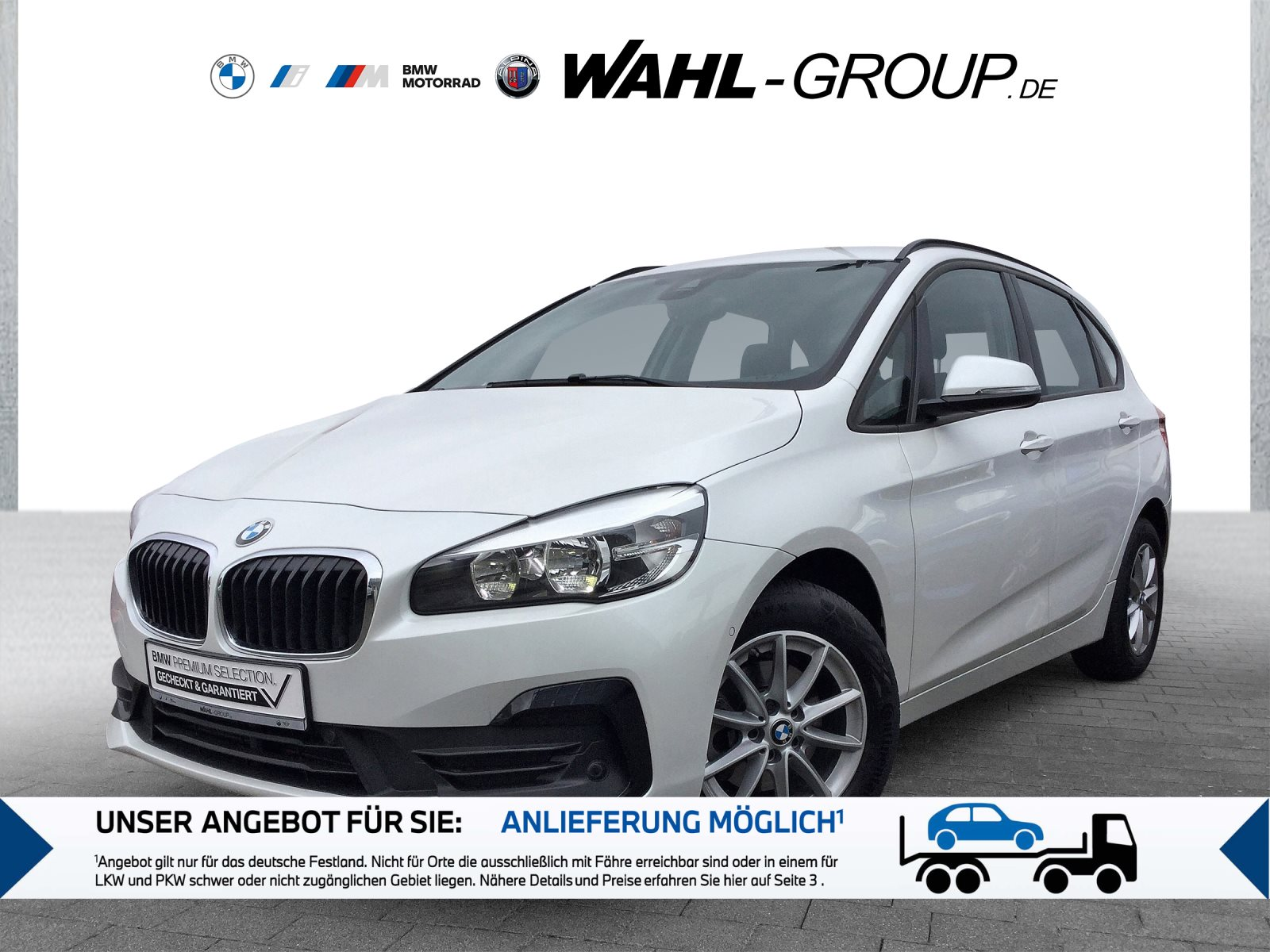 BMW 216d Active Tourer Advantage Navi Tempomat Shz, Jahr 2020, Diesel