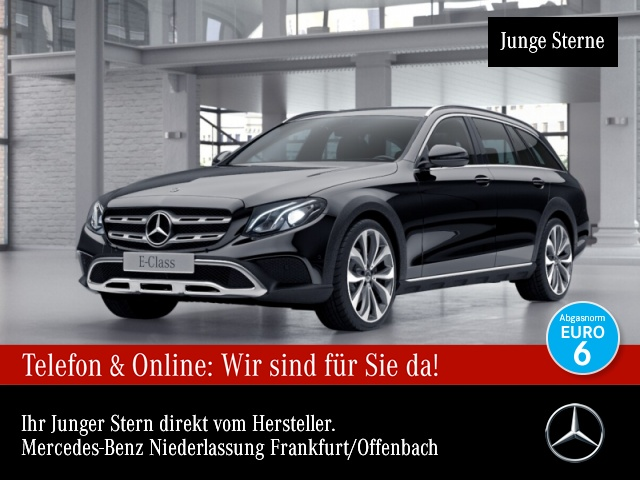 Mercedes-Benz E 220 d 4M All Terrain AHK Air Body LED Kamera, Jahr 2017, Diesel