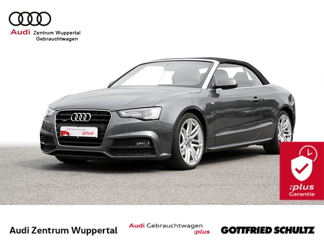 Audi A5 Cabrio 2.0TDI QUAT. S-LINE XEN NAVI PDC VO HI SHZ MUFU 19ZOLL Sport, Jahr 2016, Diesel