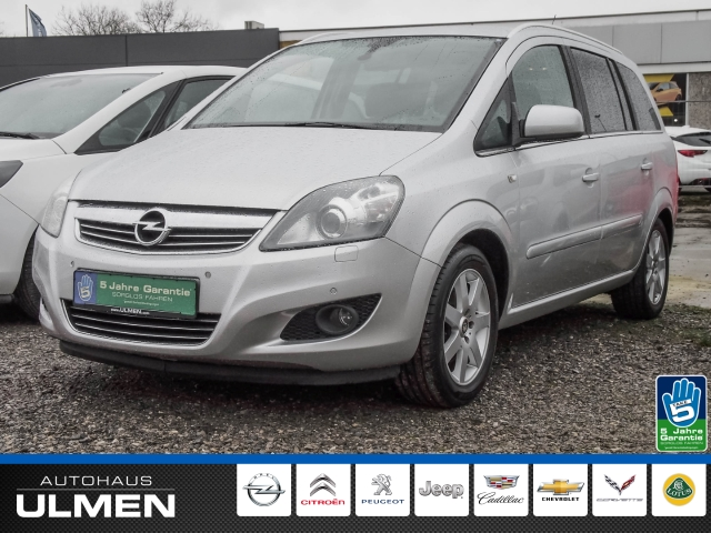 Opel Zafira B Family Plus 1.8 Navi Xenon Bluetooth Klimaautomatik PDCvo+hi Sitzheizung Alurad, Jahr 2012, Benzin
