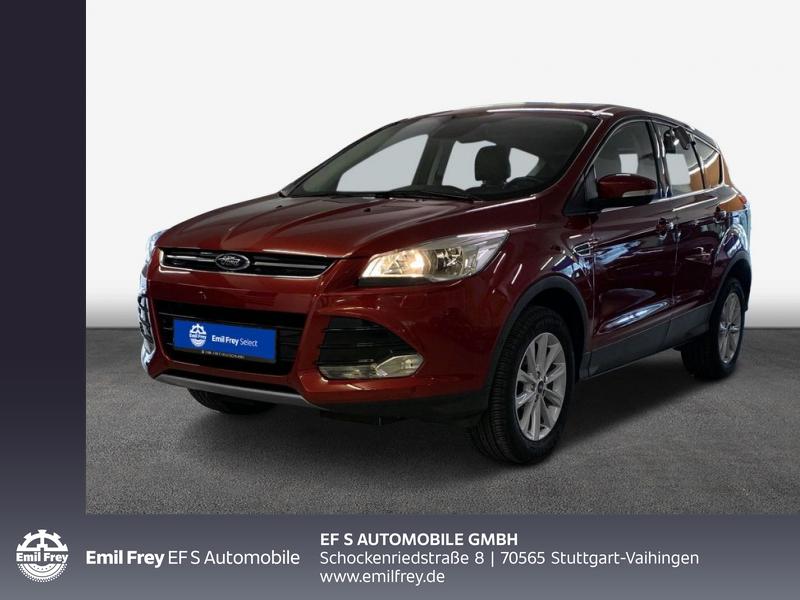 Ford Kuga 1.5 EcoBoost 2x4 Titanium AHK WinterP PDC, Jahr 2016, Benzin