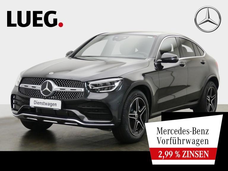 Mercedes-Benz GLC 300 d 4M Coupé AMG+FAHRASS+STANDHZG+AHK+KAM., Jahr 2020, Diesel