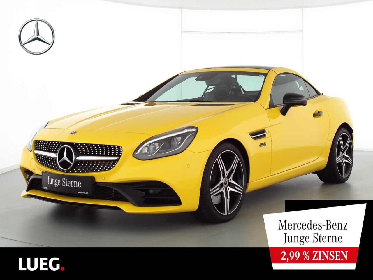 Mercedes-Benz SLC 300 AMG+COM+Pano+LED-ILS+Mem+AIRSCARF+Kamera, Jahr 2019, Benzin
