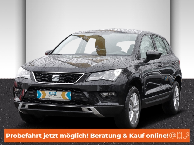 Seat Ateca Style 1.6 TDI LED-hinten LED-Tagfahrlicht Tel.-Vorb. Multif.Lenkrad RDC Klimaautom, Jahr 2017, Diesel