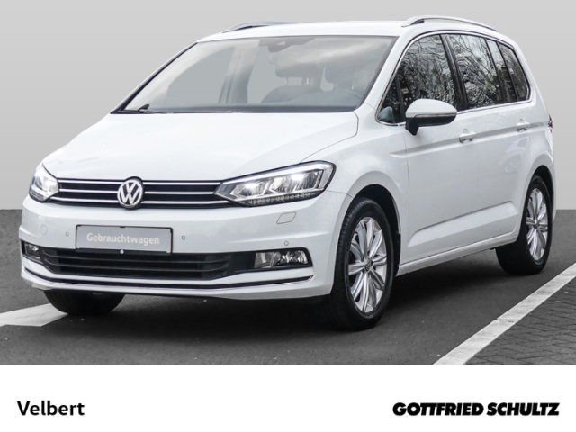 Volkswagen Touran 1.4 TSI DSG HIGHLINE+NAVI+RÜFA+SHZ-GRA, Jahr 2016, Benzin