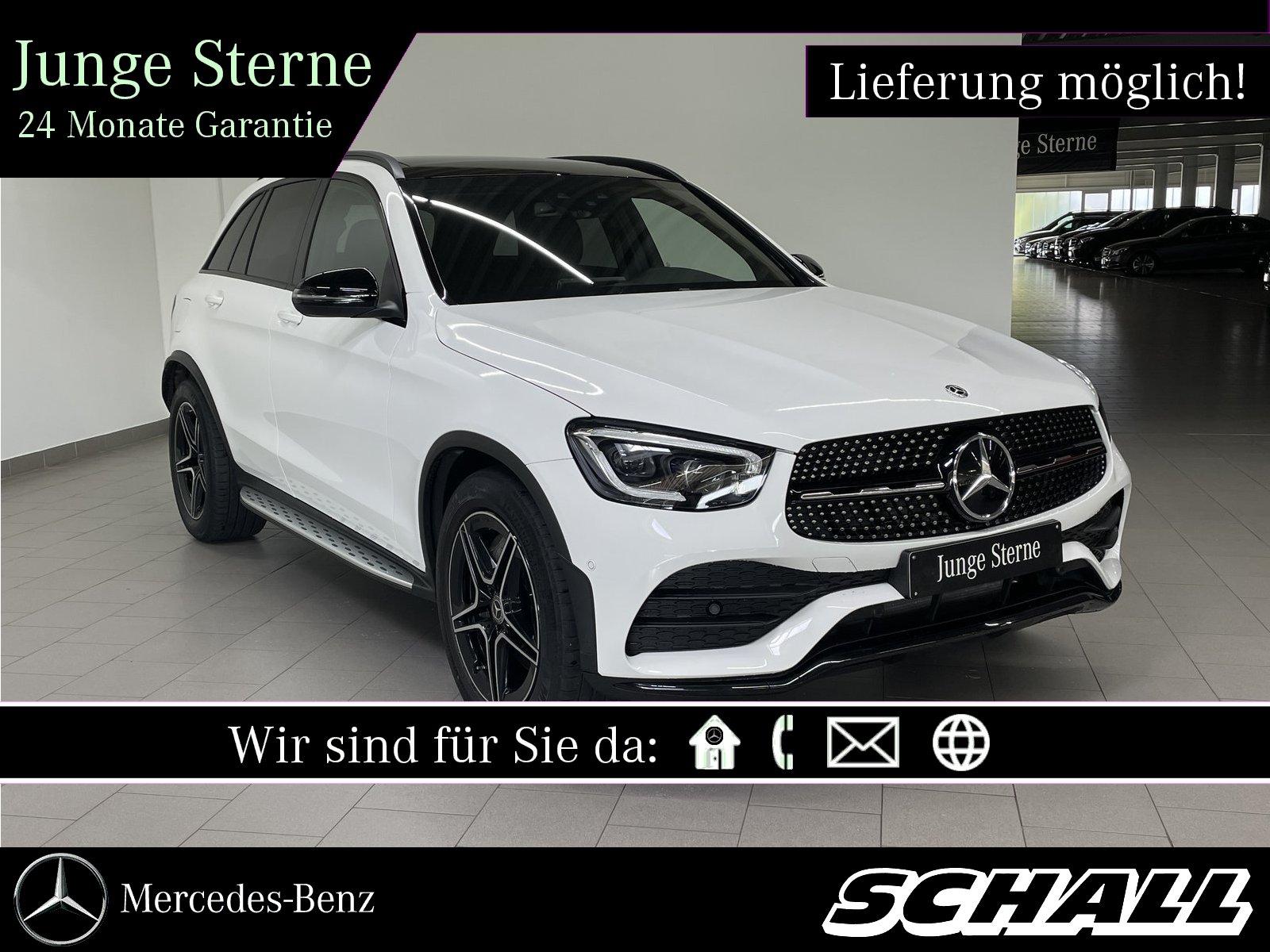 Mercedes-Benz GLC 400 d 4M AMG+NIGHT+PANO+MULTIBEAM+KAMERA+BUR, Jahr 2020, Diesel