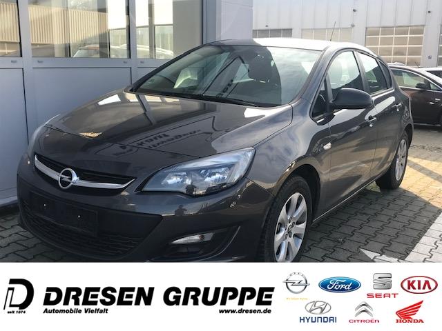 Opel Astra Lim-1,6i-AUTOMATIK/Sitz+Lenkradheizung/BC ErgoSitz/Tempomat/ParkPilot/Alu-LMF/Style/CD, Jahr 2015, Benzin