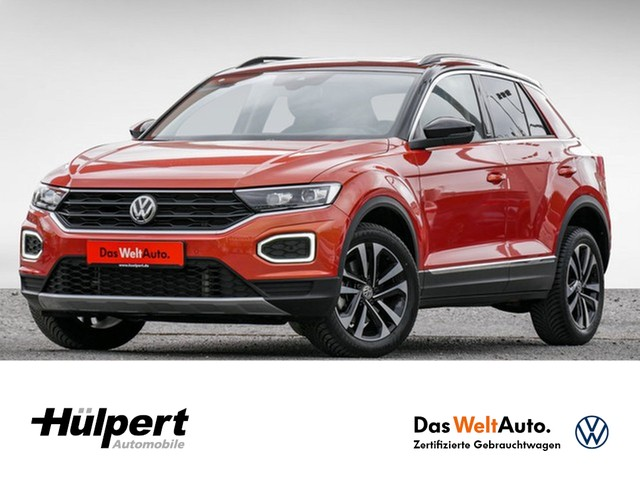 Volkswagen T-ROC 2.0 TDI IQ.DRIVE DSG LED NAVI CAM PANO ACC APP-CONN ALU17, Jahr 2019, Diesel