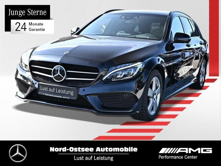 Mercedes-Benz C 300 T AMG Comand Night HUD Standhzg LED Distro, Jahr 2018, Benzin
