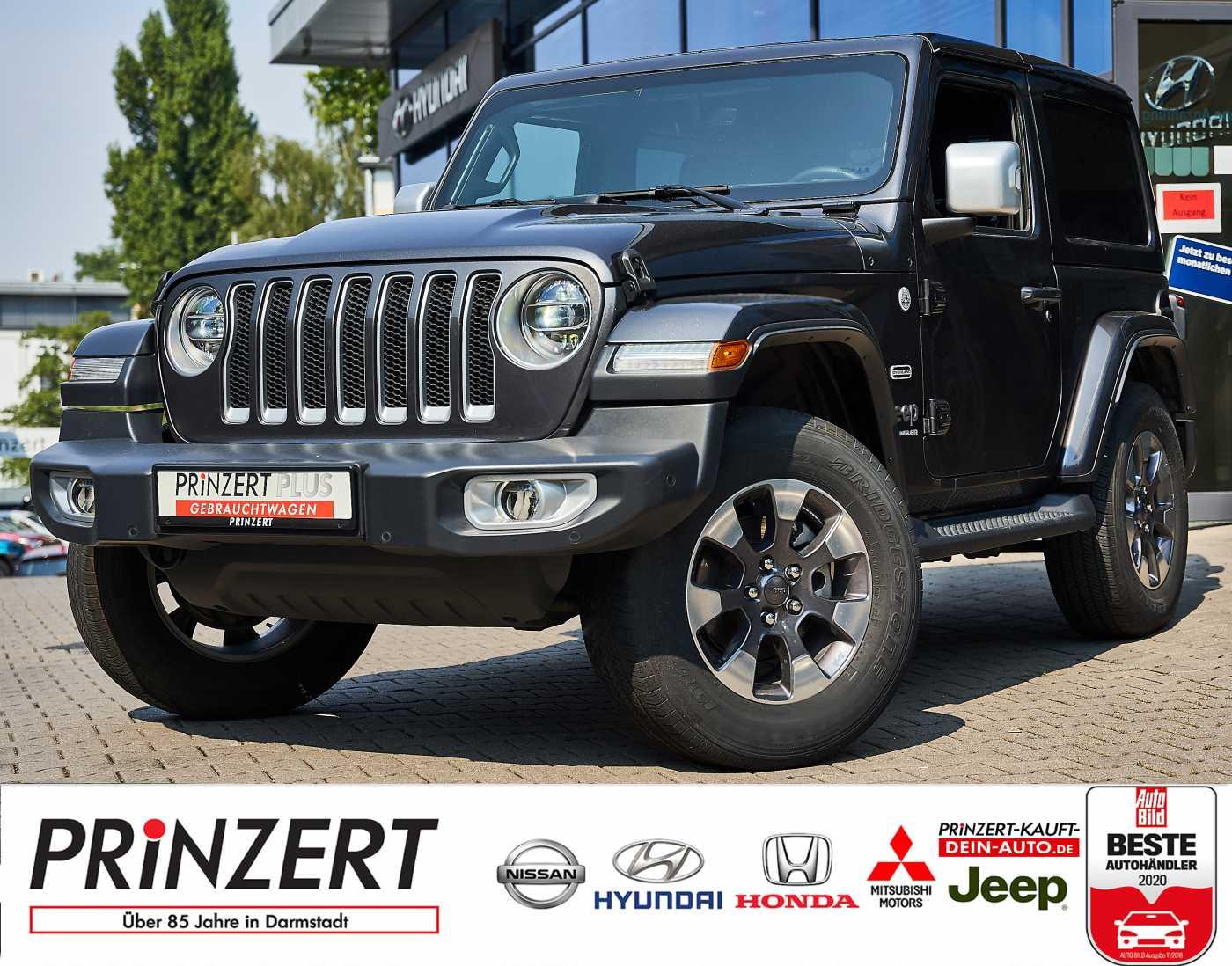 Jeep Wrangler 2.0 T-GDI 4WD AT 'Sahara', Jahr 2019, Benzin