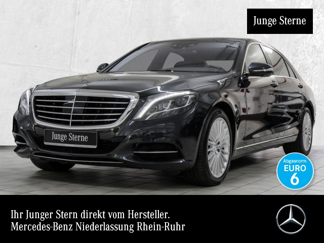 Mercedes-Benz S 500 L 4M Fahrass 360° Airmat Stdhzg Pano Distr+, Jahr 2015, Benzin