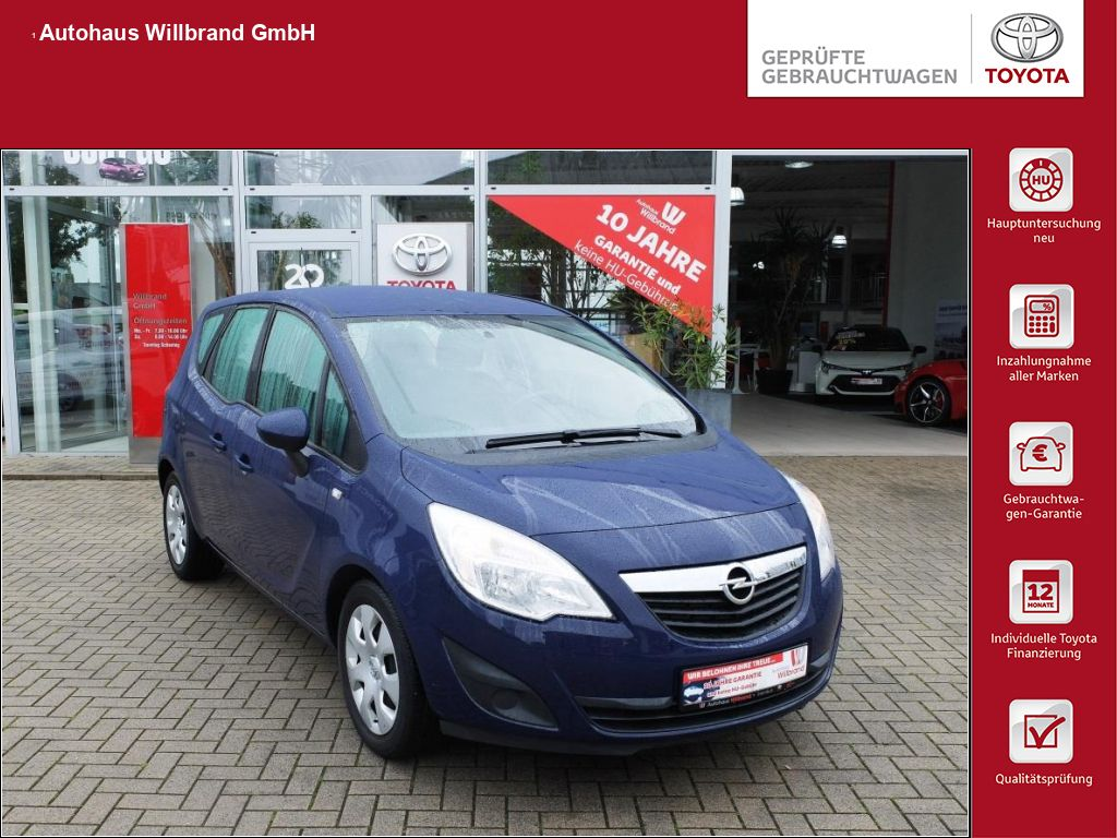 Opel Meriva 1.4 Edition/5-TÃrig/Klima, Jetzt reduziert, Jahr 2013, Benzin