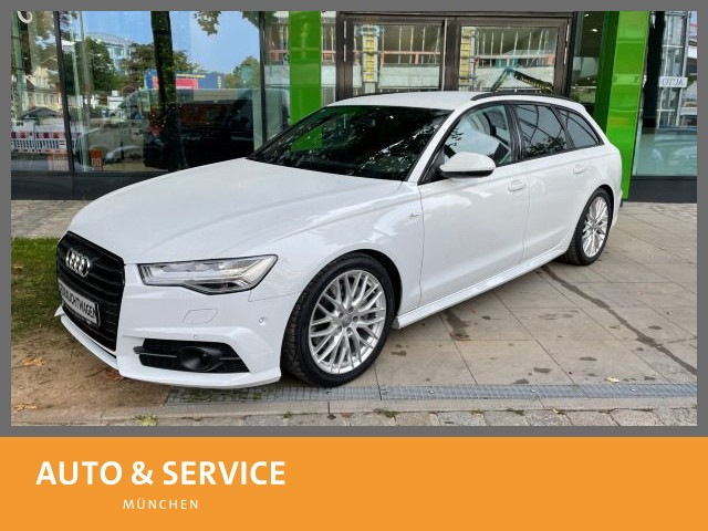 Audi A6 Avant 2.0 TFSI quattro S tronic S-LINE|Sound|, Jahr 2018, Benzin