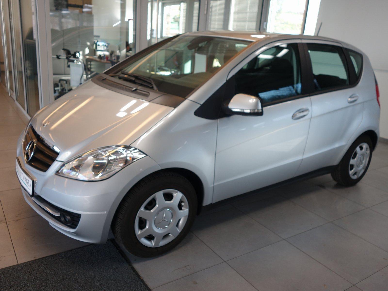 Mercedes-Benz A 160 Klima,Sitzh.,Tempomat, Jahr 2012, petrol