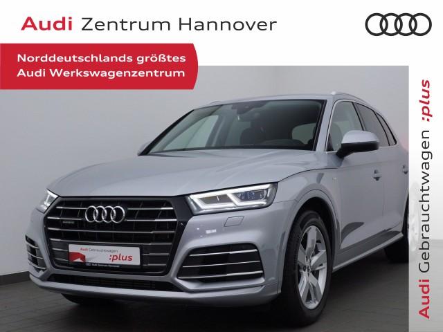 Audi Q5 55 TFSI e qu. HUD, AHK, LED, eSitze, Navi, Jahr 2020, Hybrid