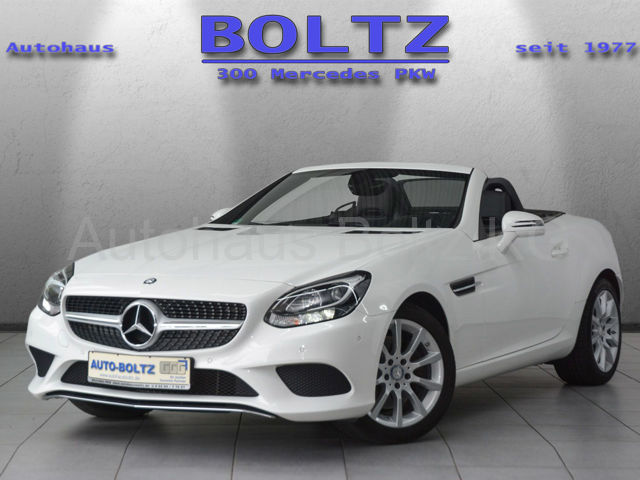 Mercedes-Benz SLC 200 PTS Navi Klima Leder, Jahr 2016, Benzin