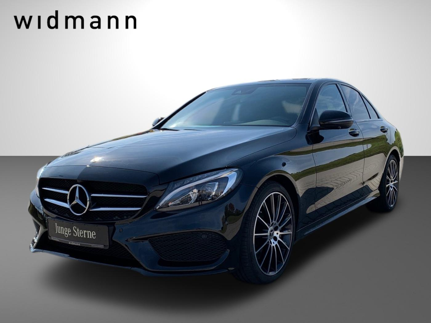 Mercedes-Benz C 400 4M AMG*Burmester*Pano.-Dach*360°*Night*LED, Jahr 2018, Benzin