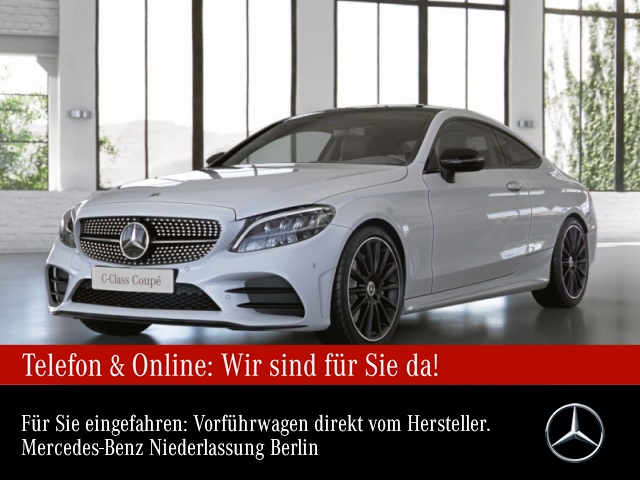 Mercedes-Benz C 200 Cp. AMG Pano LED Night Kamera Spurhalt-Ass, Jahr 2021, Benzin