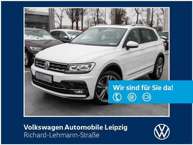 "Volkswagen Tiguan ""Sound"" 2.0 TSI DSG 4Motion R-Line *Navi*, Jahr 2017, petrol"