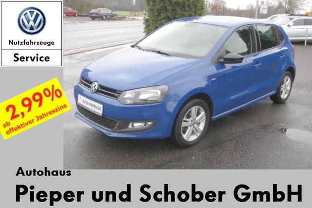 Volkswagen Polo 1.2 Match 4-türig Klima Sitzheizung Parkhilfe, Jahr 2012, Benzin