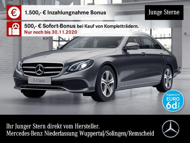 Mercedes-Benz E 200 d Avantgarde Distr. LED Kamera PTS 9G Sitzh, Jahr 2019, Diesel