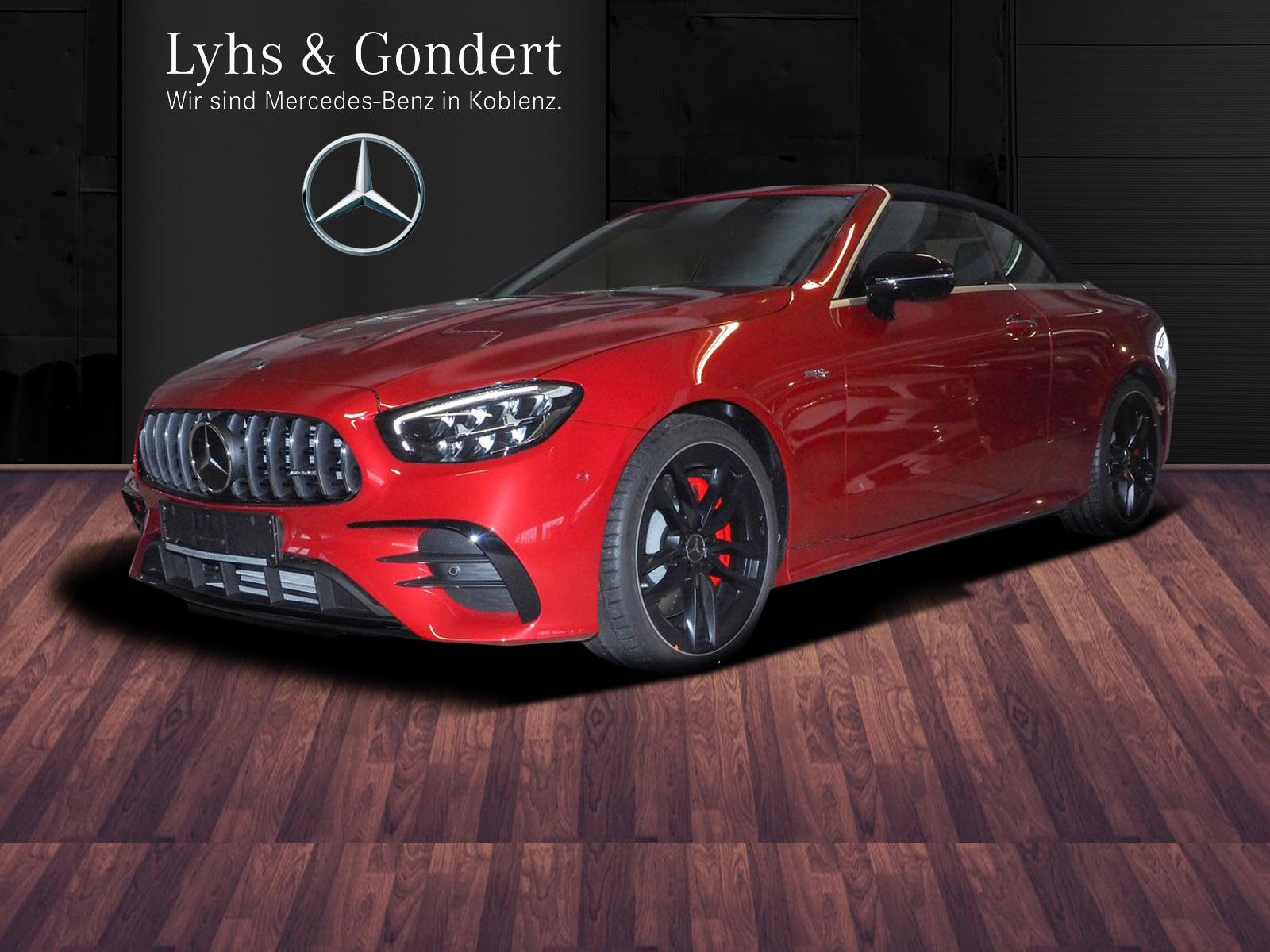 Mercedes-Benz AMG E 53 4MATIC+ Cabriolet Sitzklima Burmester, Jahr 2021, Benzin