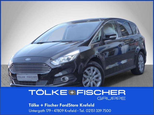 Ford S-Max Titanium 2.0 TDCi Navi Keyless e-Sitze Parklenkass. Panorama Fernlichtass. AHK-abnehmbar, Jahr 2016, Diesel