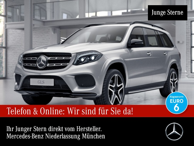 Mercedes-Benz GLS 350 d 4M AMG Stdhzg Harman Distr. COMAND SHD, Jahr 2017, Diesel