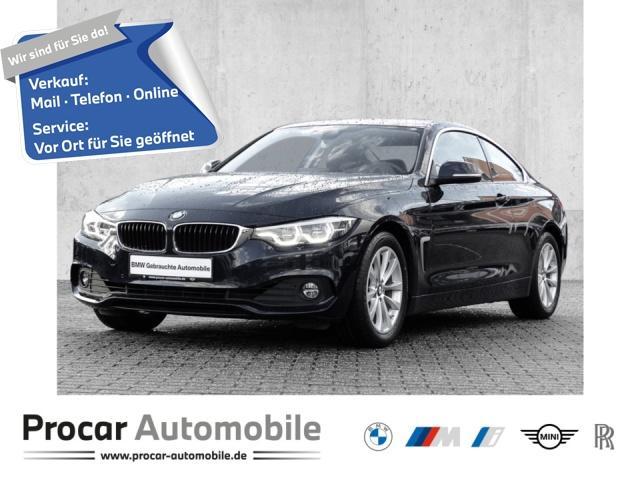 BMW 420i Coupe Advantage Innovationsp. Navi Prof., Jahr 2017, Benzin