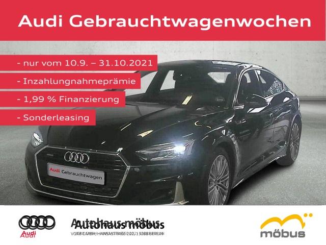 Audi A5 Sportback advanced 45 TDI QU*TIPT*AHK*RFK*NAV, Jahr 2021, Diesel