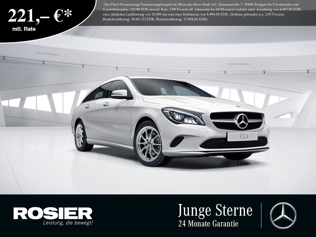Mercedes-Benz CLA 220 d SB LED Navi SHZ Einparkh. Parkassist., Jahr 2018, Diesel