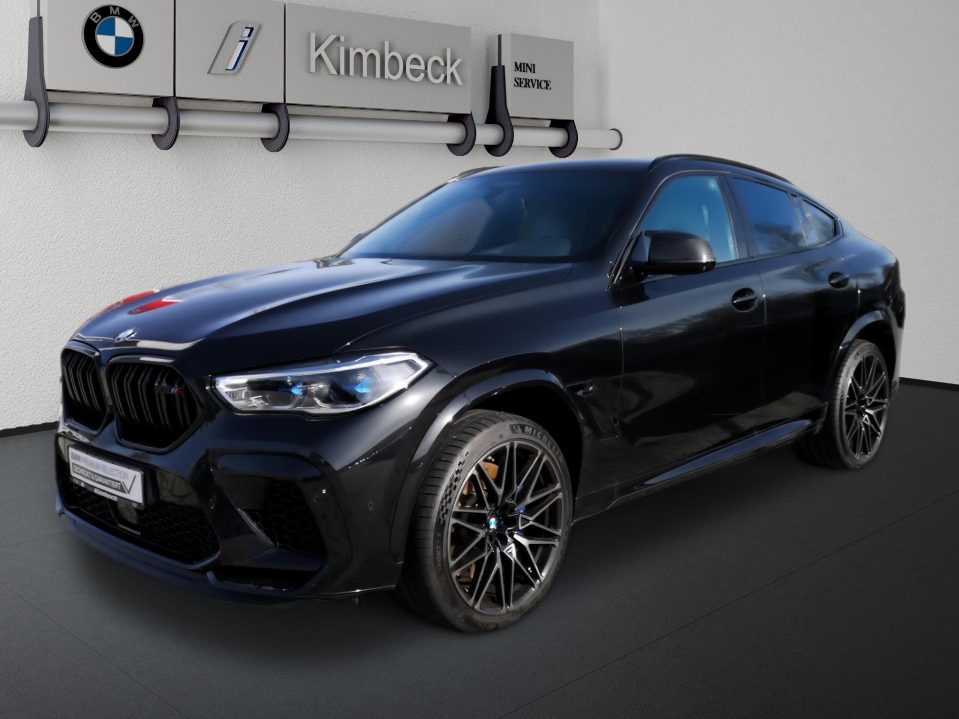 BMW X6 M Competition BowersWilkins Multifunktionsitz, Jahr 2020, Benzin