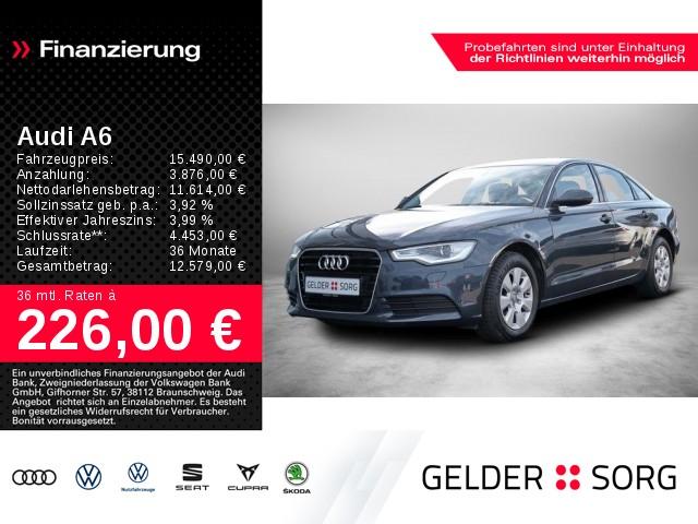 Audi A6 2.0 TDI Navi*Xenon*Sportsitze*SHZ*EPH*GRA*, Jahr 2014, Diesel