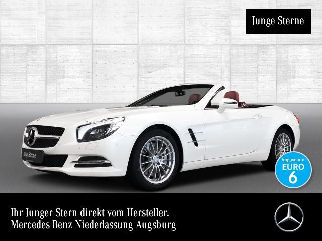 Mercedes-Benz SL 400 Pano COMAND ILS Airscarf Kamera Klimaautom, Jahr 2016, Benzin