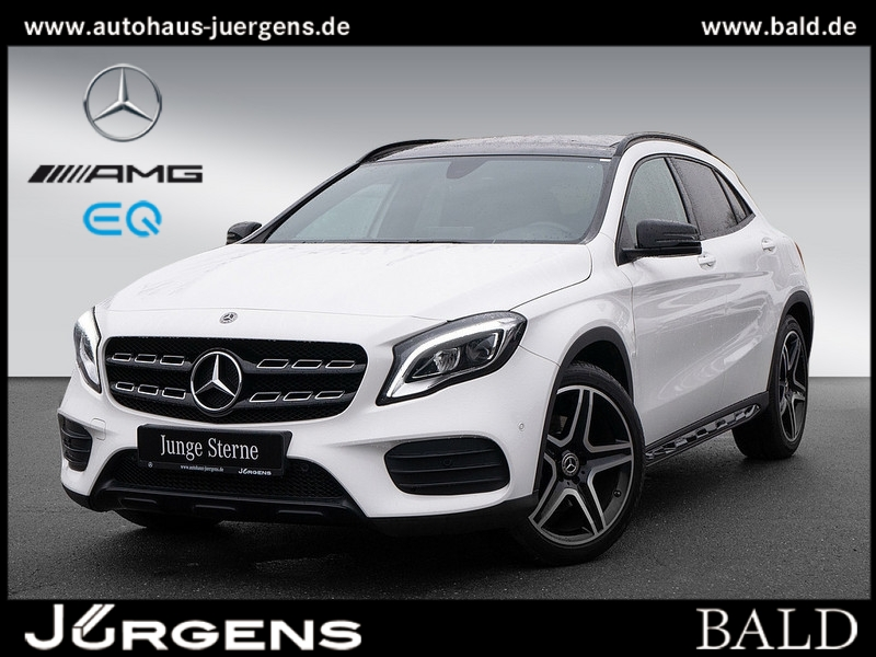 Mercedes-Benz GLA 250 AMG-Sport/Navi/LED/Cam/Pano/Night/SHZ/19, Jahr 2019, Benzin