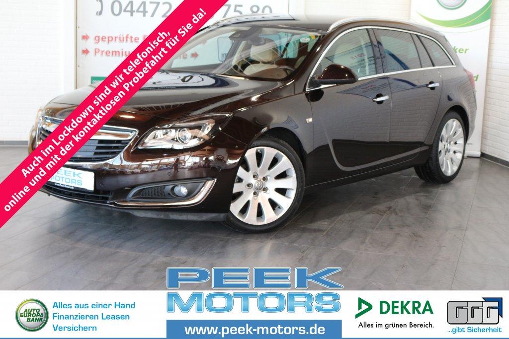 Opel Insignia Sports Tourer ecoFLEX Innovation 2.0 CDTI 19 Zoll Leder Navi AHK, Jahr 2014, Diesel