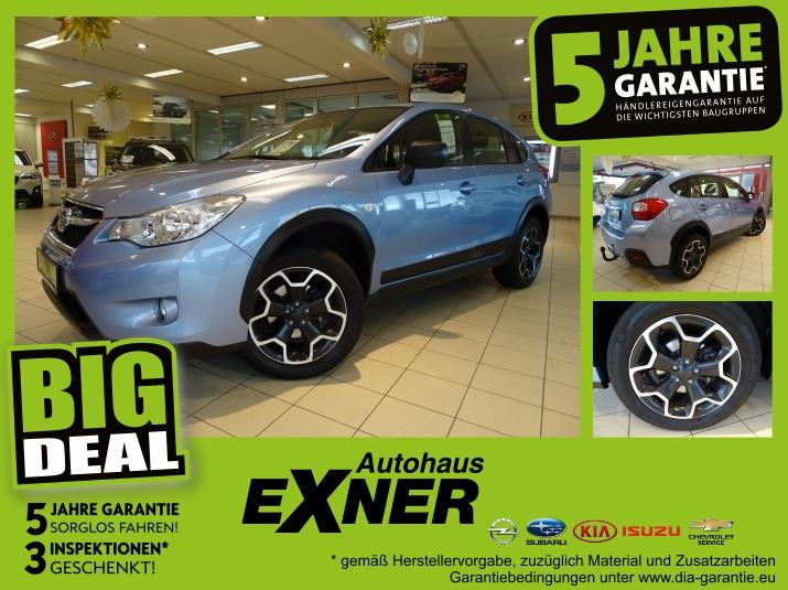 Subaru XV 1.6 ACTIVE Lineartronic Klimaautomatik, Alu 1, Jahr 2013, Benzin