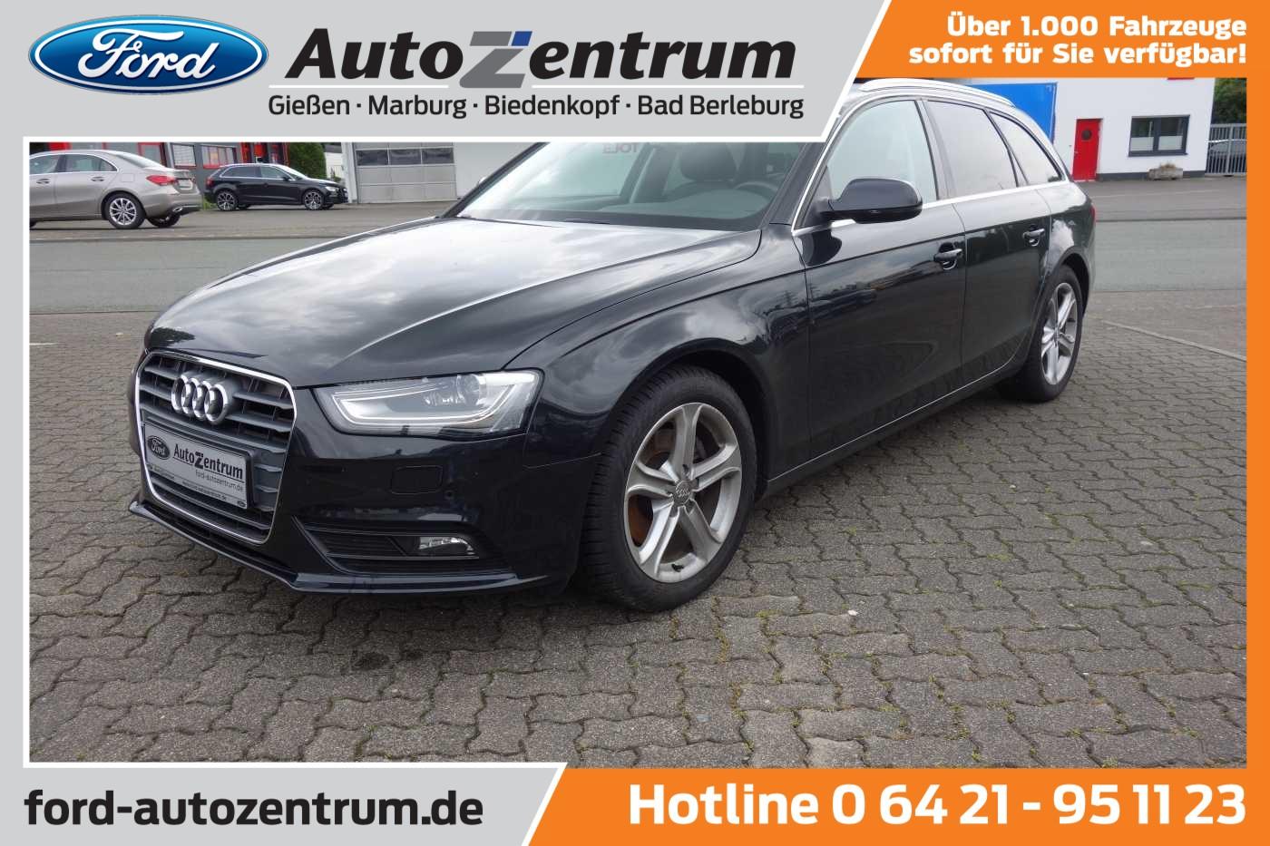 Audi A4 2.0 TDI DPF Avant Ambition Kombi Xenon, Jahr 2014, Diesel