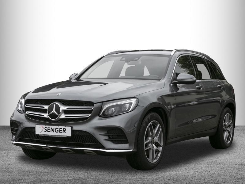 Mercedes-Benz GLC 350 d 4M*AMG*Distronic*AHK*Comand*Spur-Paket, Jahr 2017, Diesel