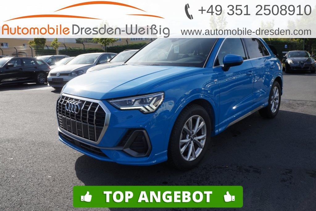Audi Q3 35 TDI S line*Navi*ACC*DAB*Matrix LED*AHK*, Jahr 2019, Diesel