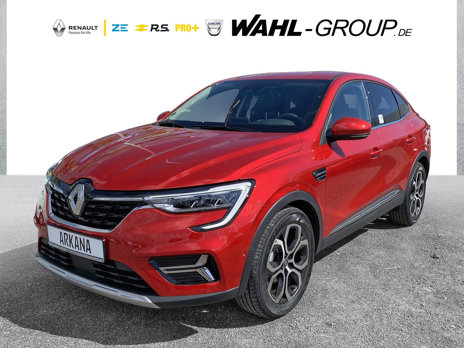 Renault Arkana INTENS TCe 140 EDC DAB LED RFK Tempomat, Jahr 2021, Benzin