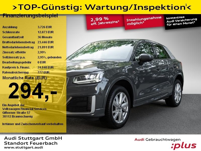 Audi Q2 Sport 1.0 TFSI S tronic S line Navi LED PDC, Jahr 2018, Benzin