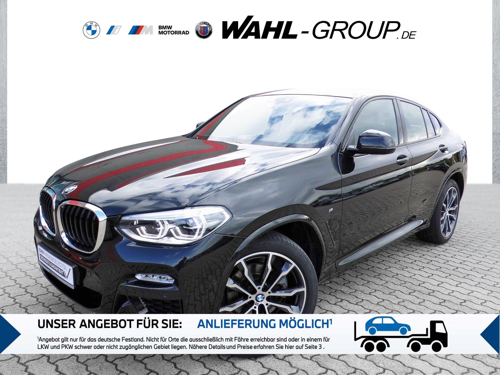 BMW X4 xDrive20d M-Sport | LED AHK Navi, Jahr 2018, Diesel