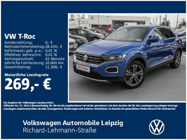 Volkswagen T-Roc Sport 1.5 TSI OPF ACT *Standheizung*, Jahr 2020, Benzin
