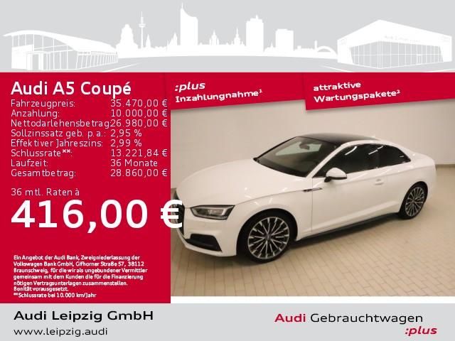 Audi A5 Coupe 3.0 TDI sport quattro *Matrix*Pano*AHK*, Jahr 2017, Diesel