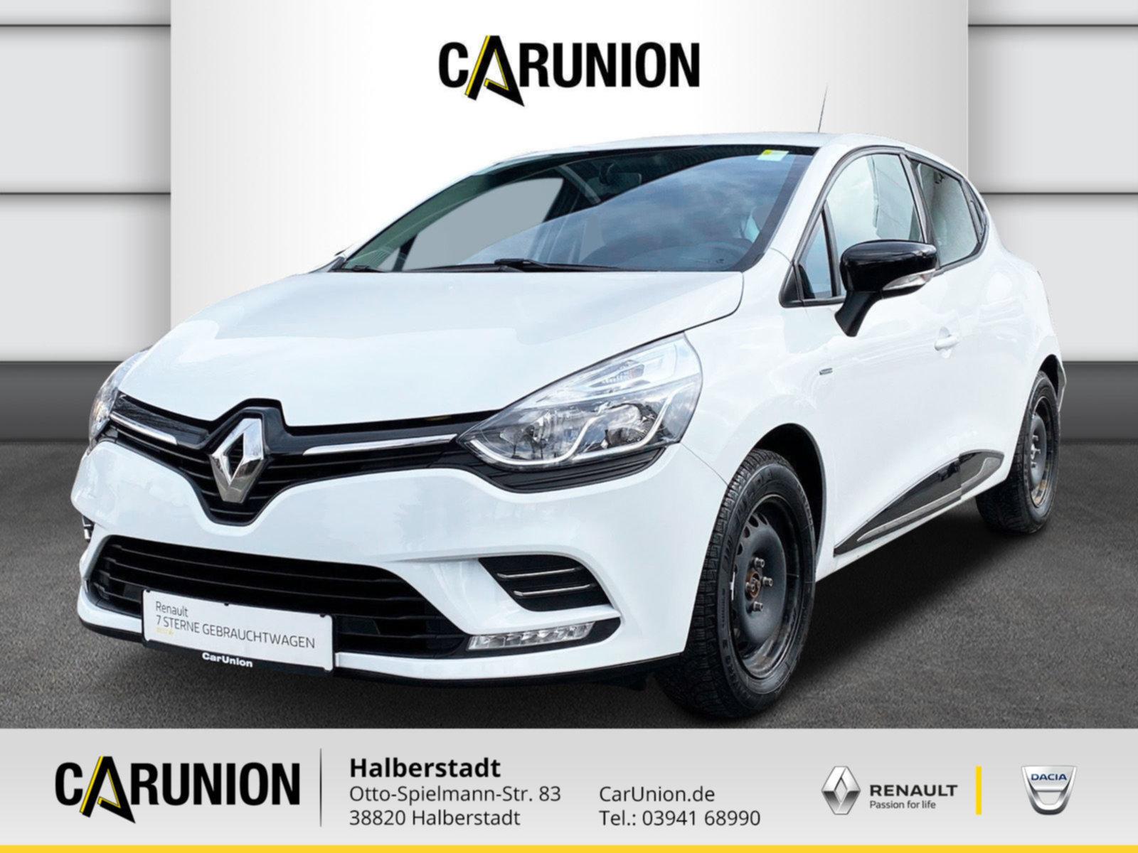 Renault Clio Limited 1.2 16V Klima, Jahr 2016, Benzin